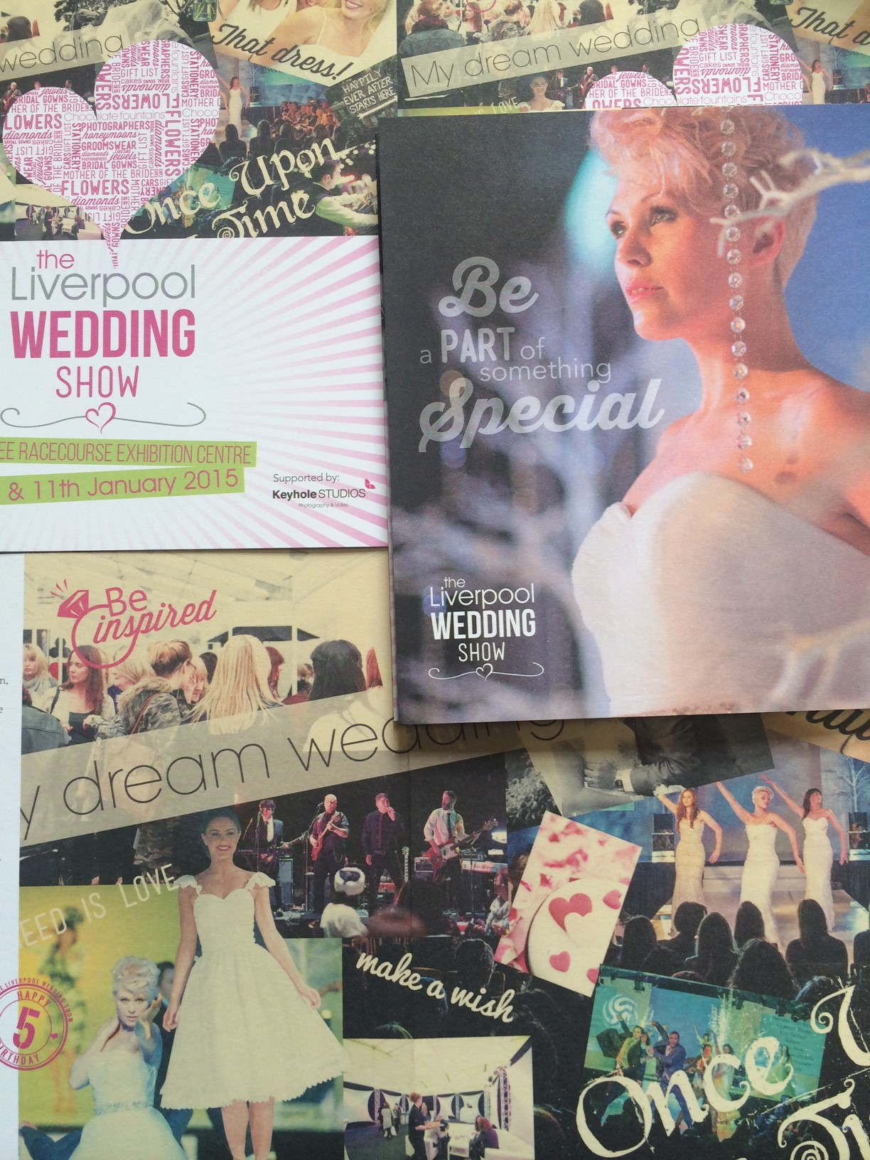 The Liverpool Wedding Show Re-brand